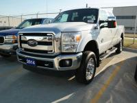 Certified. Ford F-250SD Lariat Oxford White