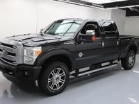 2014 Ford F-250 with Platinum Package,6.7L Diesel V8 DI