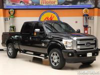 This Carfax 1-Owner 2014 Ford Super Duty F-250 Platinum