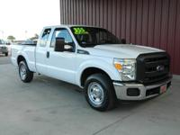 2014 F250 SUPERCREW XL 2WD, CARFAX 1-OWNER, LOW MILES,