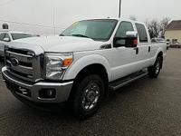 Options:  2014 Ford F-250Sd Xlt|White|Recent Arrival!