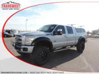 Options:  2014 Ford F-250 Silver|4 Wheel Drive Never