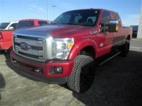 *LOCAL TRADE*. 4D Crew Cab, Power Stroke 6.7L V8 DI 32V