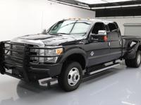 This awesome 2014 Ford F-350 4x4 Diesel comes loaded