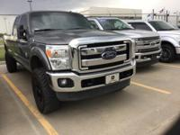Recent Arrival! Ford F-350SD Gray 4WD Clean CARFAX.