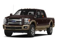 2014 Ford F-350SD Green Gem Metallic  4WD. Odometer is