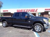 THIS IS A BEAUTIFUL 2014 FORD F350 LARIAT SRW LWB CREW