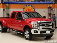 This 2014 Ford Super Duty F-350 DRW Lariat is in great