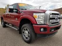 2014 Ford F-350SD Lariat Ruby Red CARFAX One-Owner. 4WD