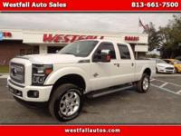 This is a gorgeous F350 Super Duty Platinum Edition