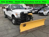 ONLY 2K MILES - LIKE NEW - Diesel 350 Super Duty 4x4 w/