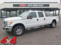 From city streets to back roads, this White 2014 Ford