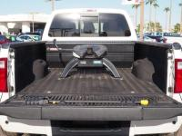 This WHT PLATINUM 2014 Ford F-450 Super Duty Platinum