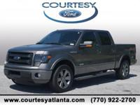This 2014 Ford F-150 FX2 in Sterling Gray Metallic