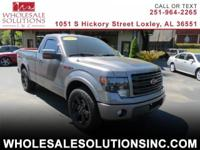 Our 2014 Ford F-150 FX2 Regular Cab 4x2 with Tremor