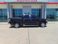 CARFAX One-Owner. 2014 Ford F-150 Black ABS brakes,