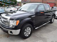This XLT crew cab 4x4 is a one owner and is loaded up