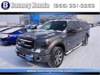 Gray 2014 Ford F-150 FX4 4WD 6-Speed Automatic