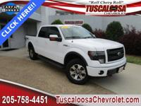 This 2014 Ford F-150 FX4 in White features: 5.0L V8 FFV