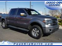 Sterling Gray Metallic 2014 Ford F-150 FX4 4WD 6-Speed