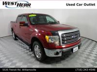 2014 Ford F-150 Lariat Ruby Red Metallic Tinted