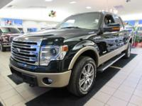 F-150 Lariat, 4D SuperCrew, 4WD, Equipment Group 502A