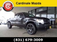 New Price! Clean CARFAX. Black 2014 Ford F-150 STX RWD