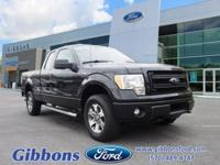 Clean CARFAX. Certified. 4WD. Tuxedo-Bla 2014 Ford