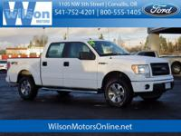 Take command of the road in the 2014 Ford F-150! Very