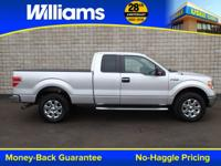 CARFAX One-Owner. Ingot Silver Metallic 2014 Ford F-150