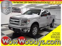 Work Truck! This 2014 Ford F-150 comes equipped with;