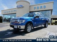 You'll love the look and feel of this 2014 Ford F-150