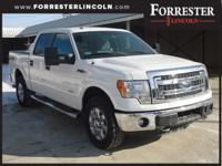 2014 Ford F-150 XLT, Oxford White, AWD / 4WD, EcoBoost