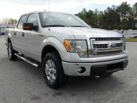 This 2014 Ford F-150 XLT in Ingot Silver Metallic
