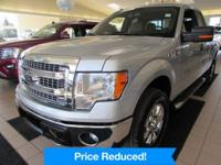 F-150 XLT. We are VERY particular about the quality of