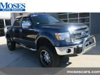 New Price! Clean CARFAX. Blue Jeans Metallic 2014 Ford
