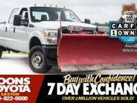 2014 FORD F-250SD XL IN OXFORD WHITE, FOUR DOOR CREW