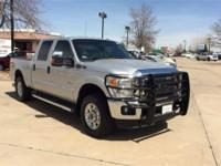 New Price! Clean CARFAX. Silver 2014 Ford F-250SD XLT