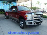 CARFAX One-Owner. Clean CARFAX. 2014 Ford F-350SD