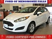 This is a Ford Certified Pre-Owned 2014 Ford Fiesta: br