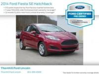 Snatch a bargain on this 2014 Ford Fiesta SE before