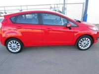 Come check out this sporty red 2014 Ford Fiesta!! With