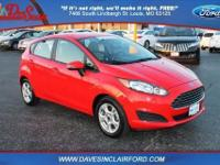 Ford Certified. FWD. Cloth Seats. SYNC. Power Shift