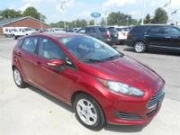 Ruby Red Metallic Ford Fiesta Hatchback SE!***Aluminum