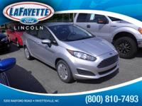 New Arrival! This 2014 Ford Fiesta S will sell fast