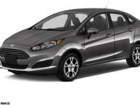 Fiesta SE, Ford Certified, 4D Sedan, 1.6L I4 Ti-VCT,