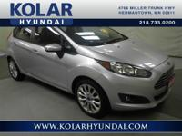 2014 Ford Fiesta SE  Fiesta SE, Local Trade-in, New