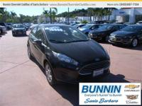 Options:  2014 Ford Fiesta Se|Black|Tired Of The Same