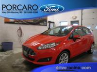 Options:  2014 Ford Fiesta Se|Race Red|Charcoal Black