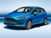 Fiesta SE, 1.6L I4 Ti-VCT, FWD, Black.  Awards:   *
